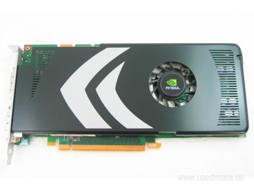 Nvidia GeForce 8800 GT 512MB PCIe Mac Pro Graphics Card - Apple MB560Z/A
